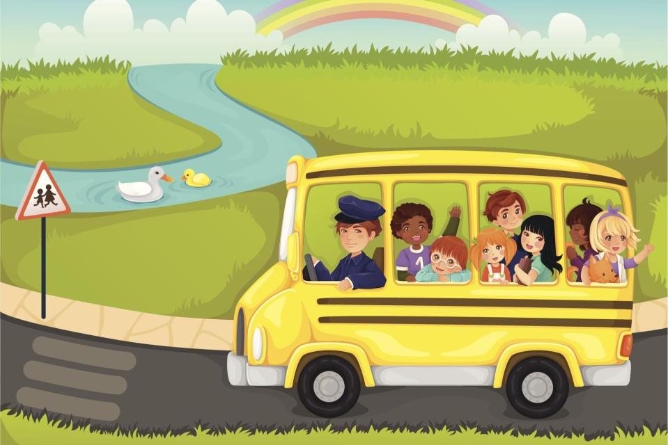 Поездка картинка для детей